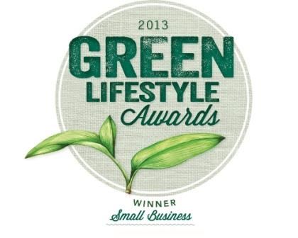 Green Lifestyle Awards - Small Business - Winner 2013