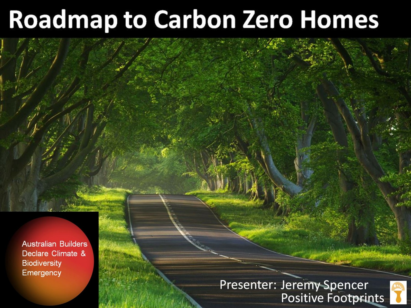 Roadmap to Carbon Zero - worth the drive...